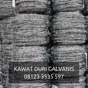KAWAT DURI GALVANIS